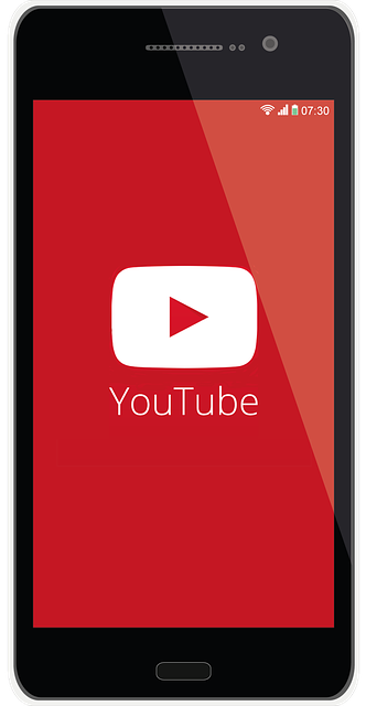 Photo of youtube on mobile phone