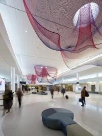 Art installation at San Francisco Airport - photo credit: Bruce Damonte