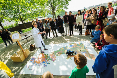 L'Oreal Soapbox Science (London 2015)