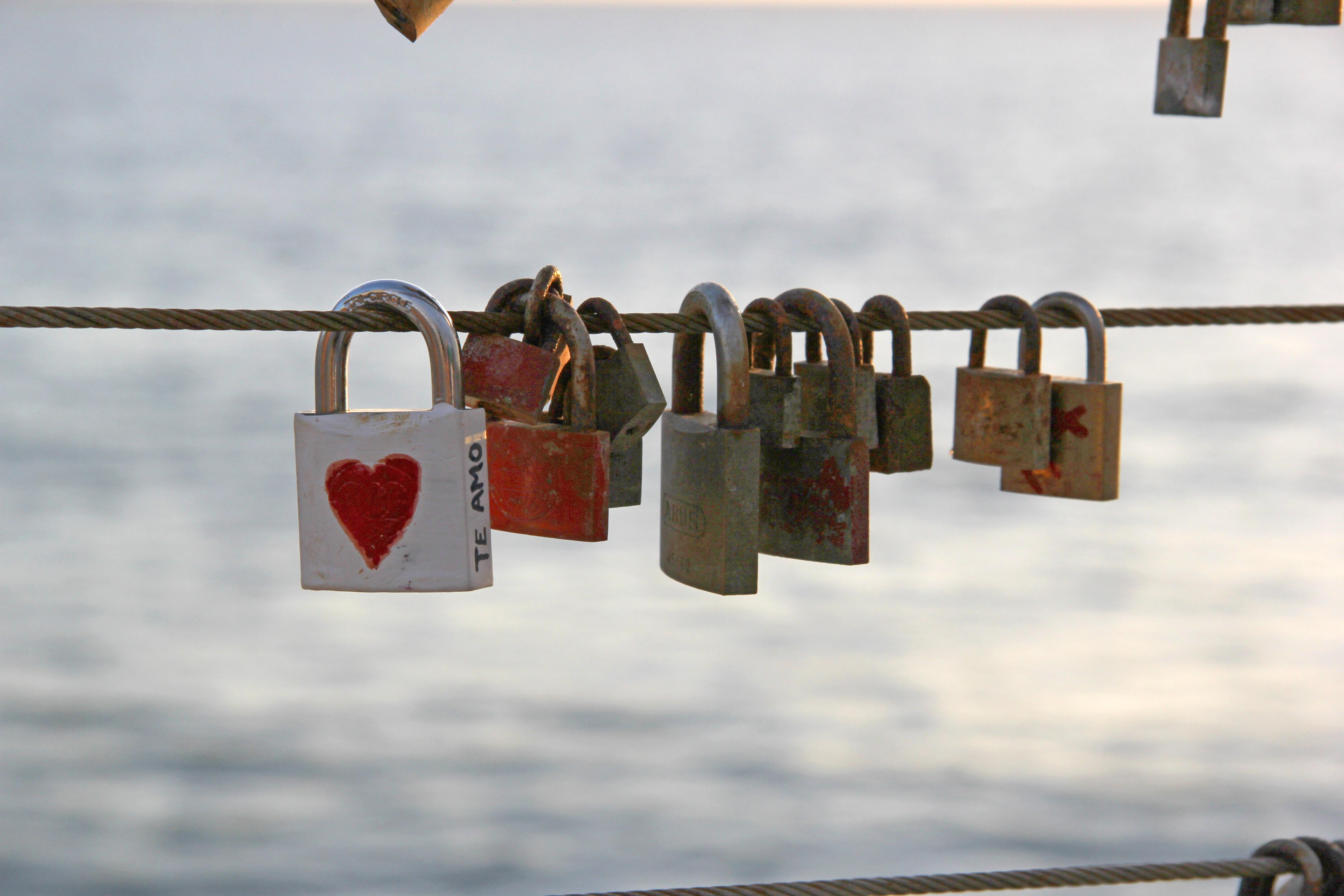 Photo of padlocks