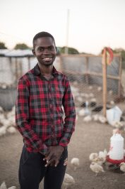 Martin, recent graduate of Zambian Agribusiness Incubation Trust