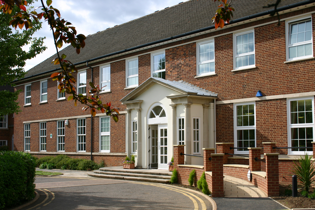 Mitchell Hall at Cranfield University