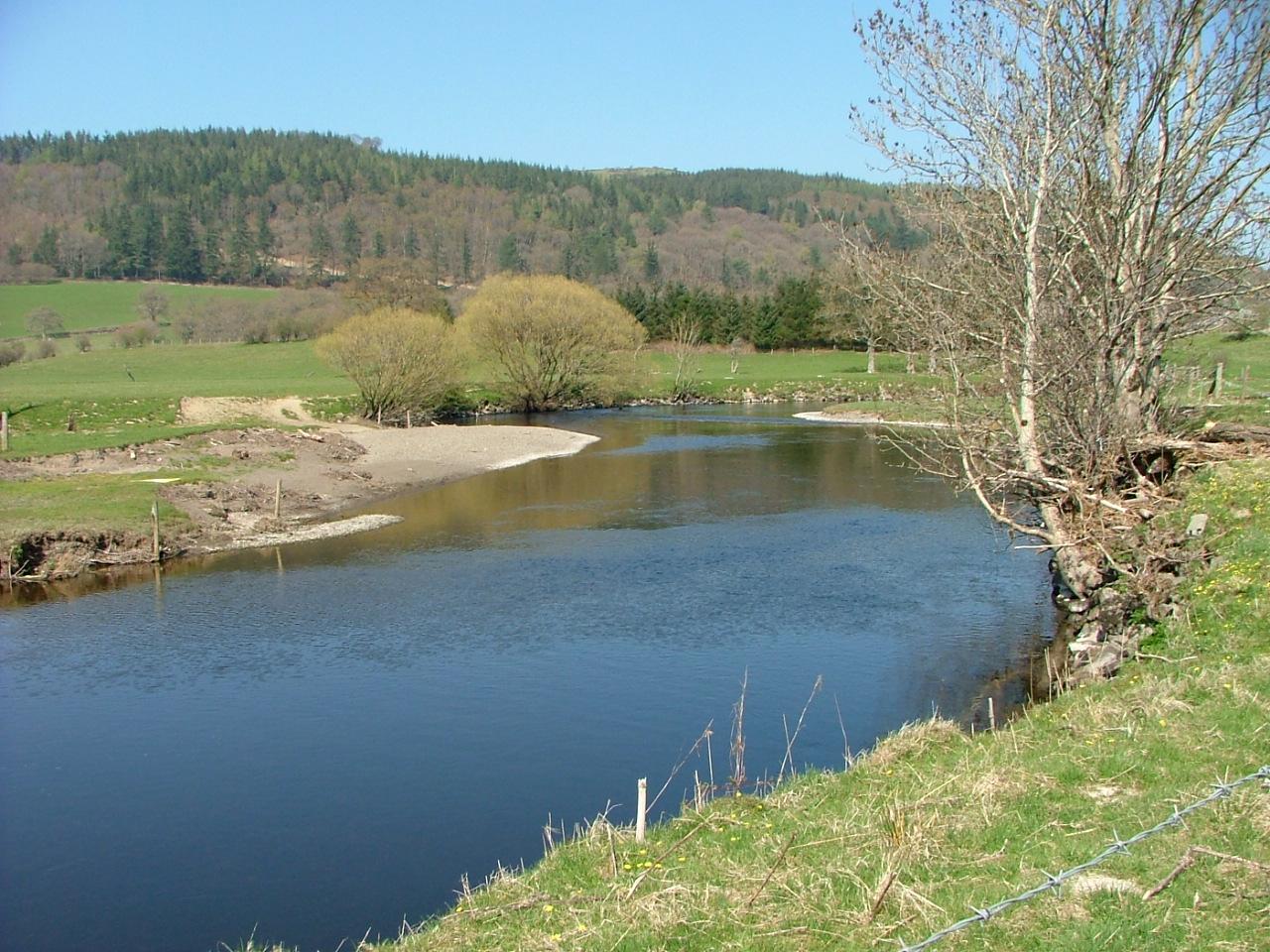 River Dee in Wales