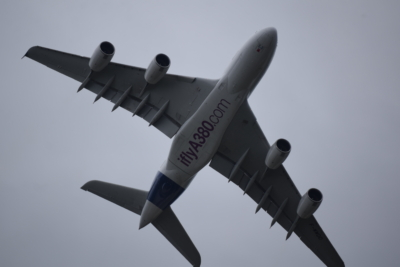 Airbus A380 at Farnborough Airshow 2016