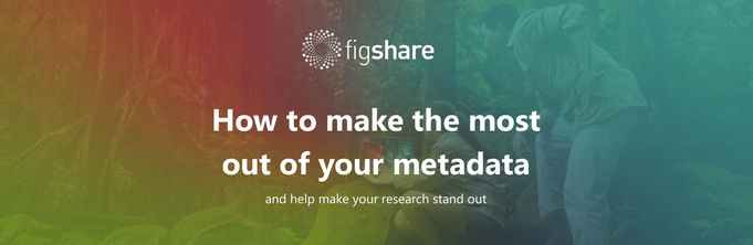 Screenshot of the figshare guide on using metadata