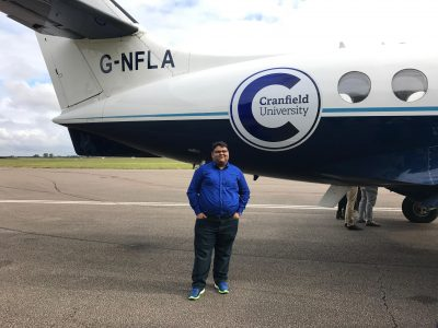 Vijay Kothari, Aerospace Vehicle Design MSc at Cranfield University