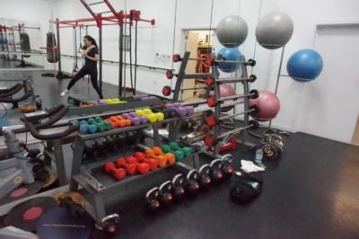 Cranfield University gym