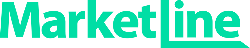 MarketLine logo in green