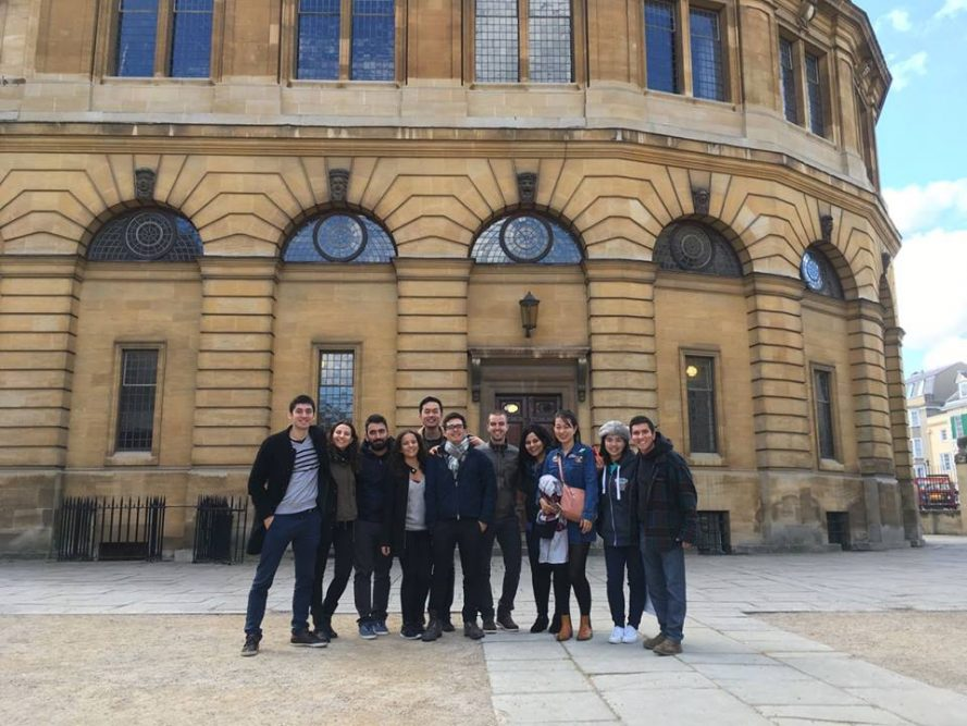 Master's in Management students' Oxford trip