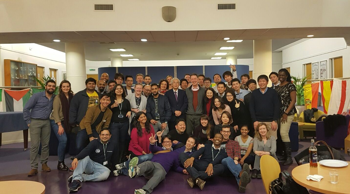 Cranfield School of Management MBA students 2016-17