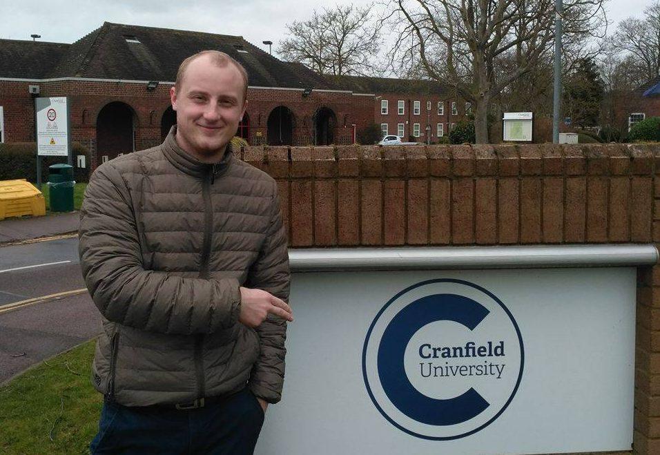 Bartlomiej Palus, Advanced Mechanical Engineering MSc at Cranfield University