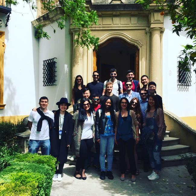 Cranfield School of Management Master's in Management students in Granada