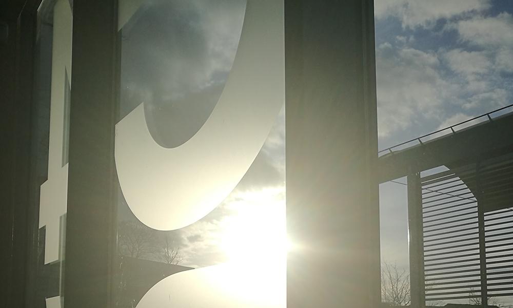 Centre for Competitive Creative Design in winter sunshine