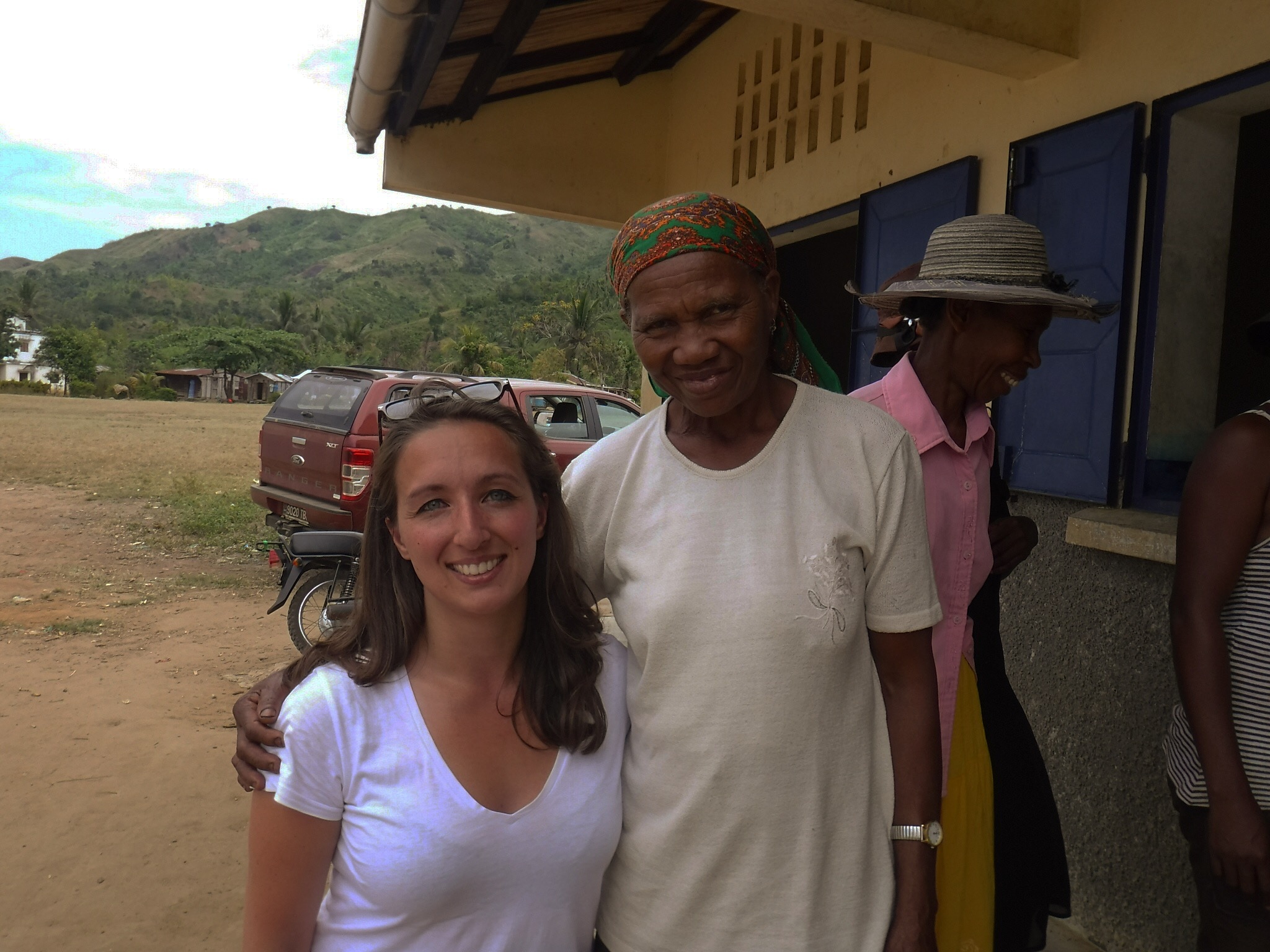 Siobhan with vanilla farmer