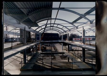 The Kings Norton Library under construction in 1992