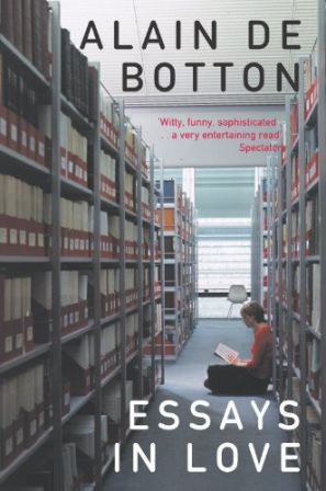 Cover of Alain de Botton's book featuring the Kings Norton Library
