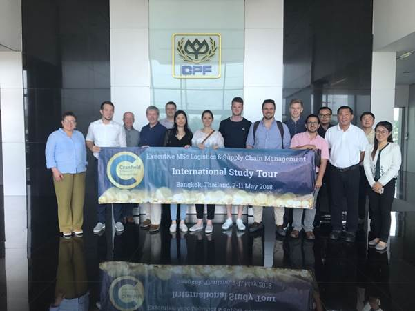 Executive Logistics and Supply Chain Management MSc students visit Bangkok