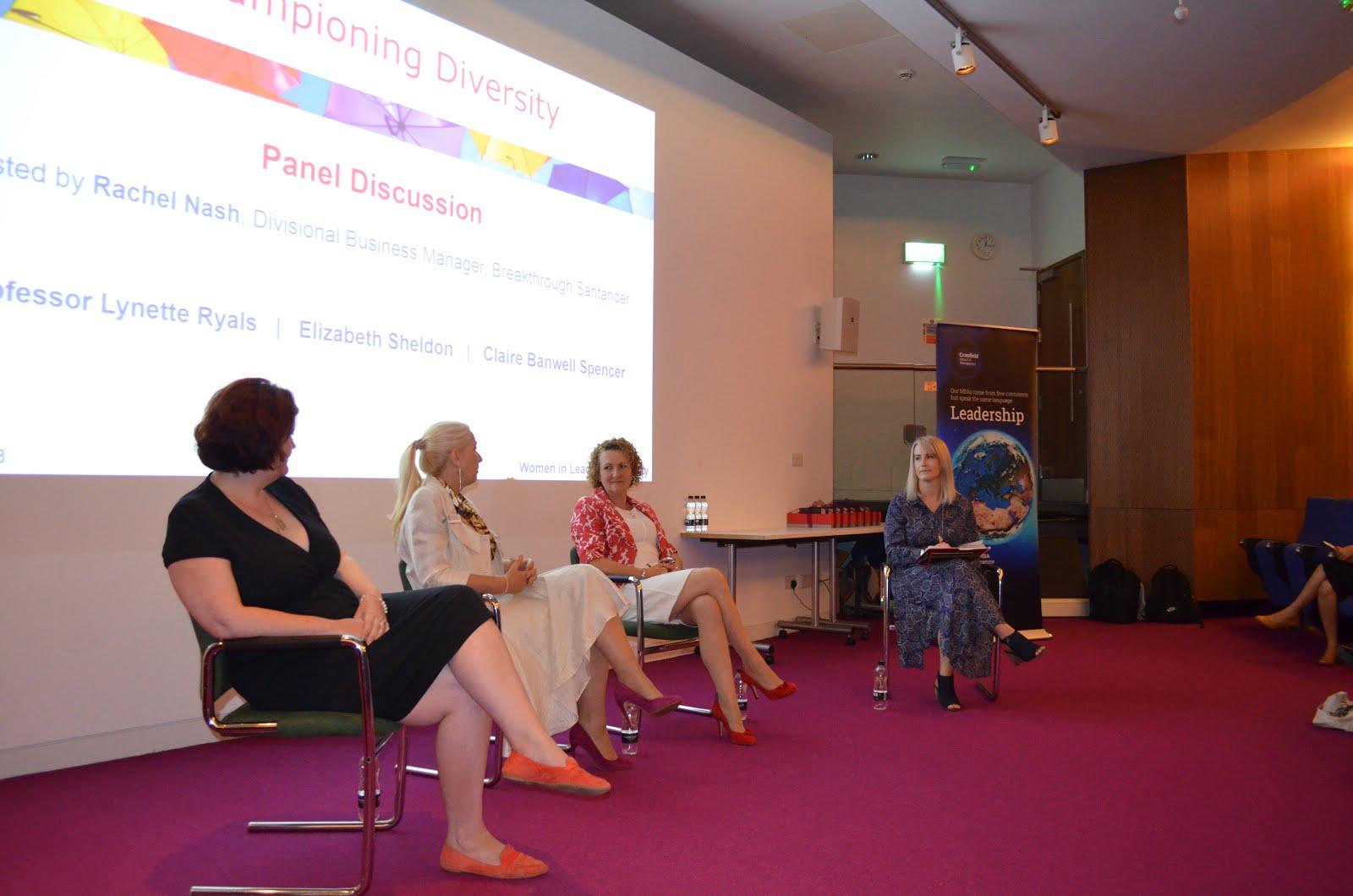 Championing Diversity Conference Panel
