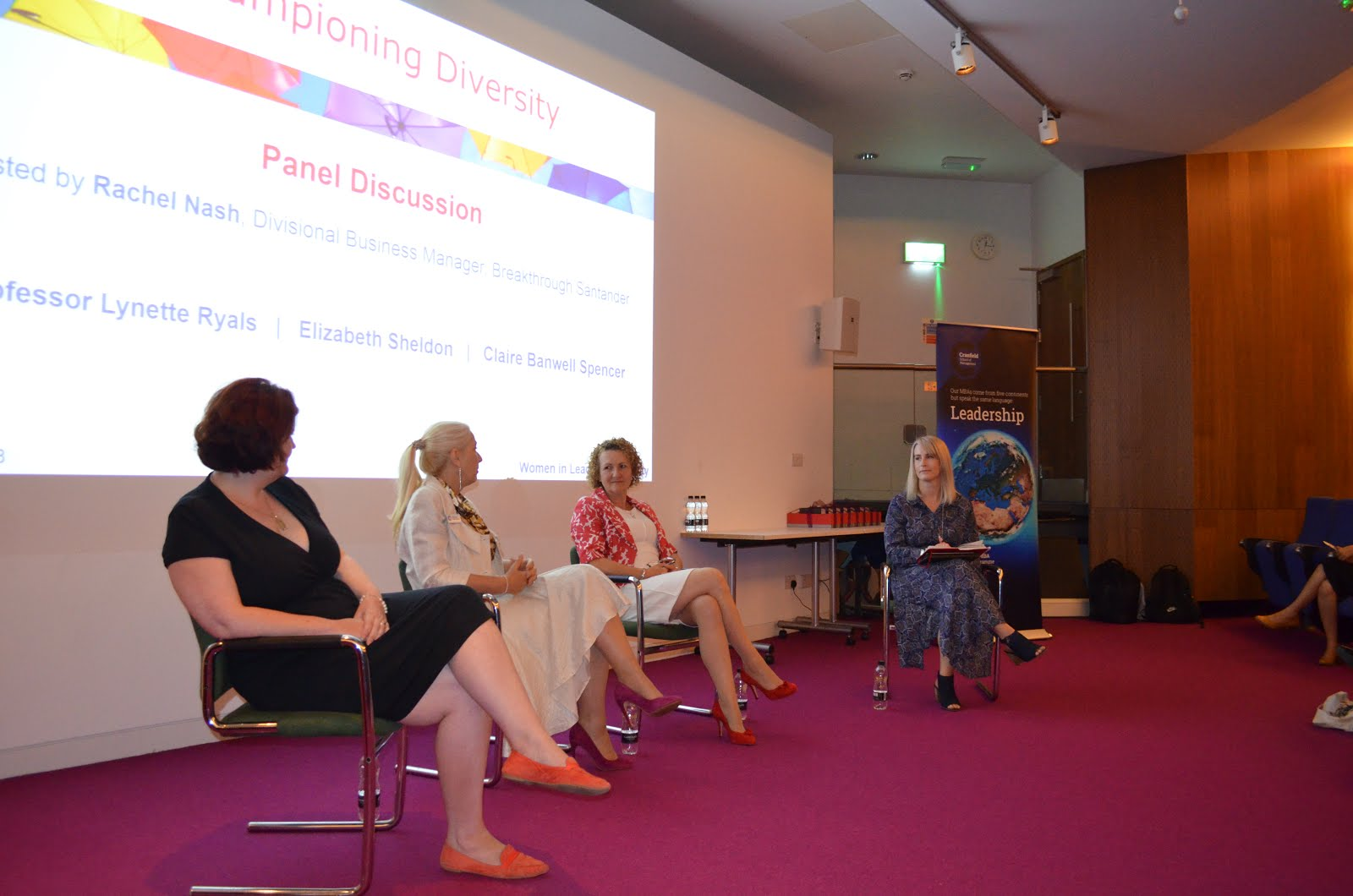 Championing Diversity Conference Panel