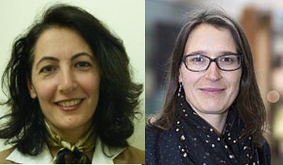 Dr Nazmiye Ozkan and Dr. Karoline Rogge