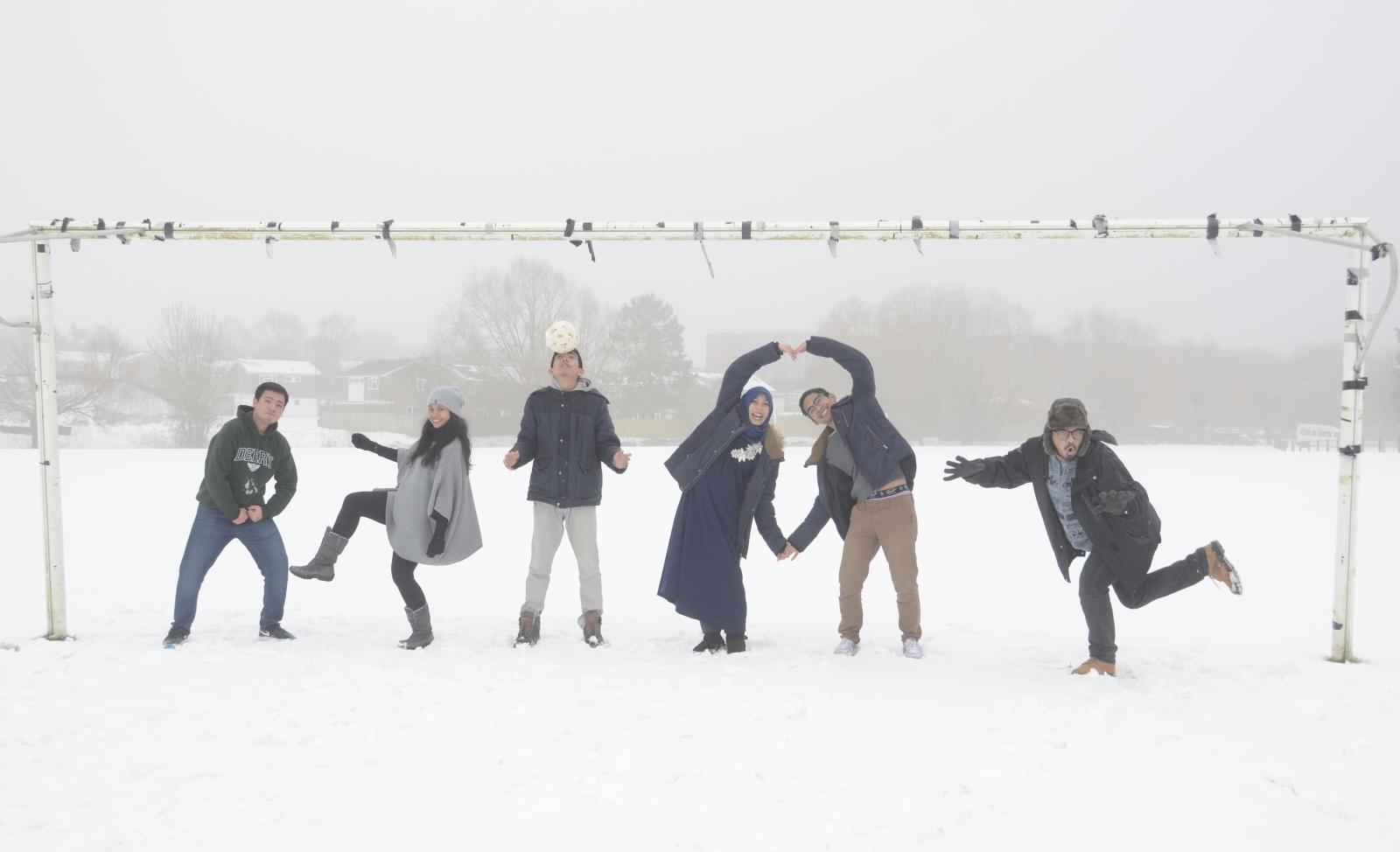 Snow in Cranfield
