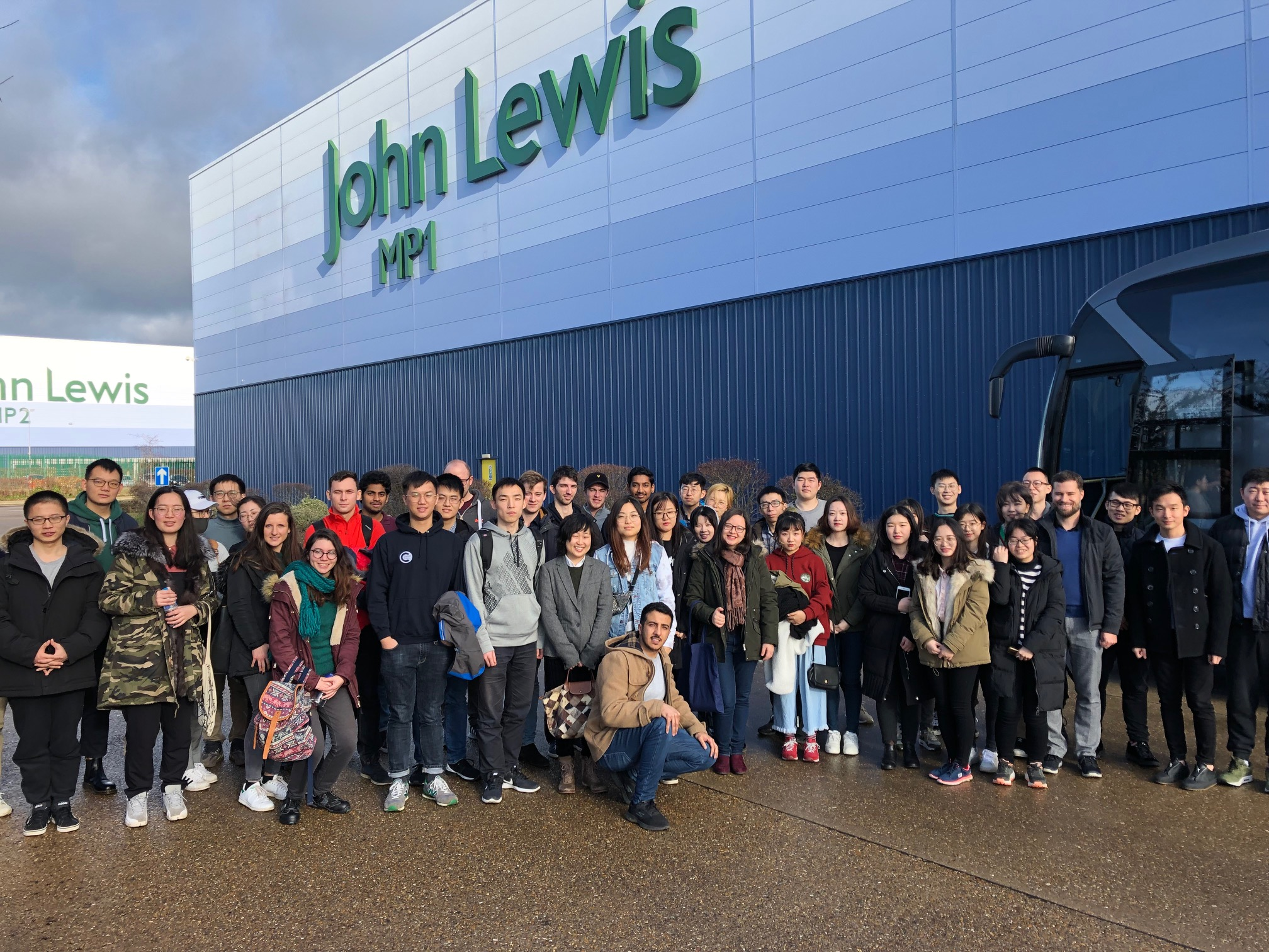 John Lewis warehouse visit