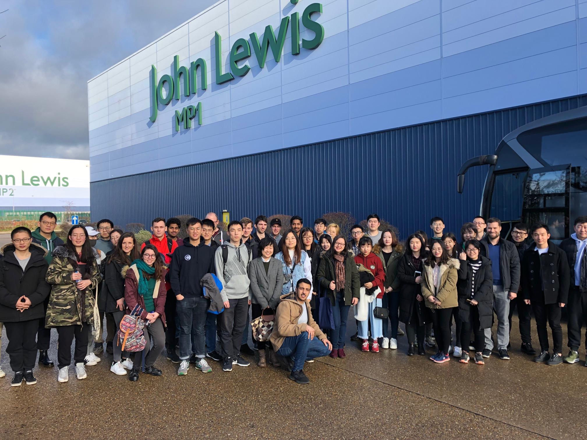 John Lewis warehouse visit
