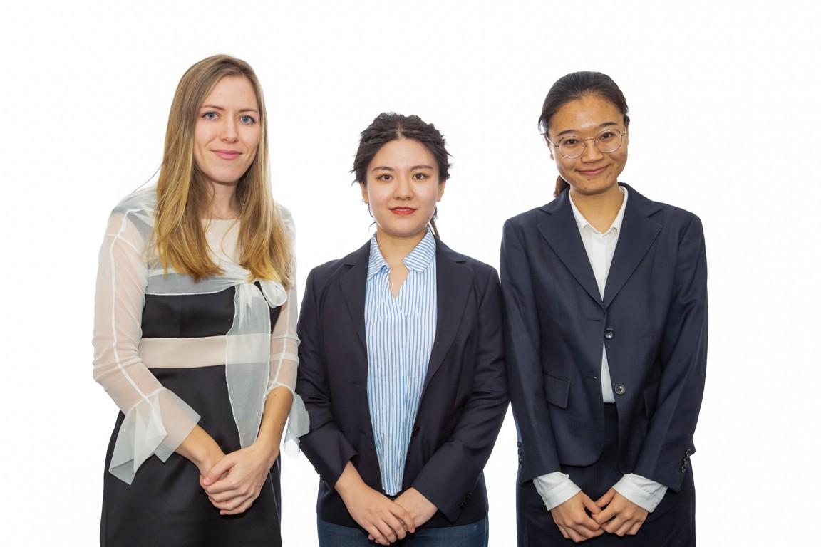 Andrea, Xiaoqi and Jianghan