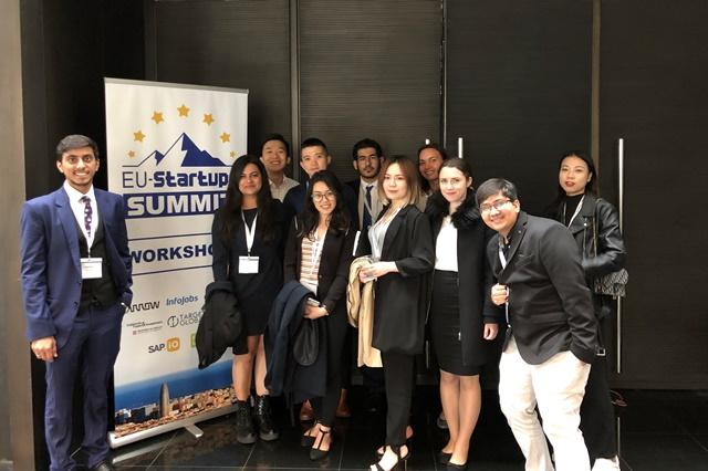 EU StartUp Summit - Sophy Zaw blog