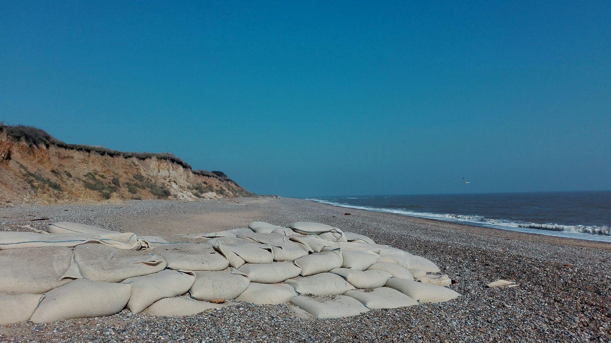 Coastal erosion management, Suffolk UK