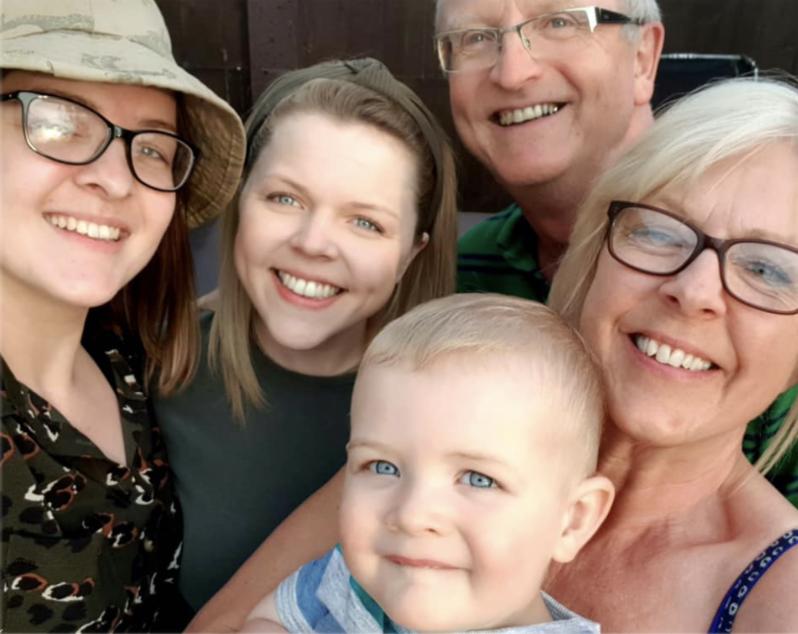 Tiffany Trethowan and her family
