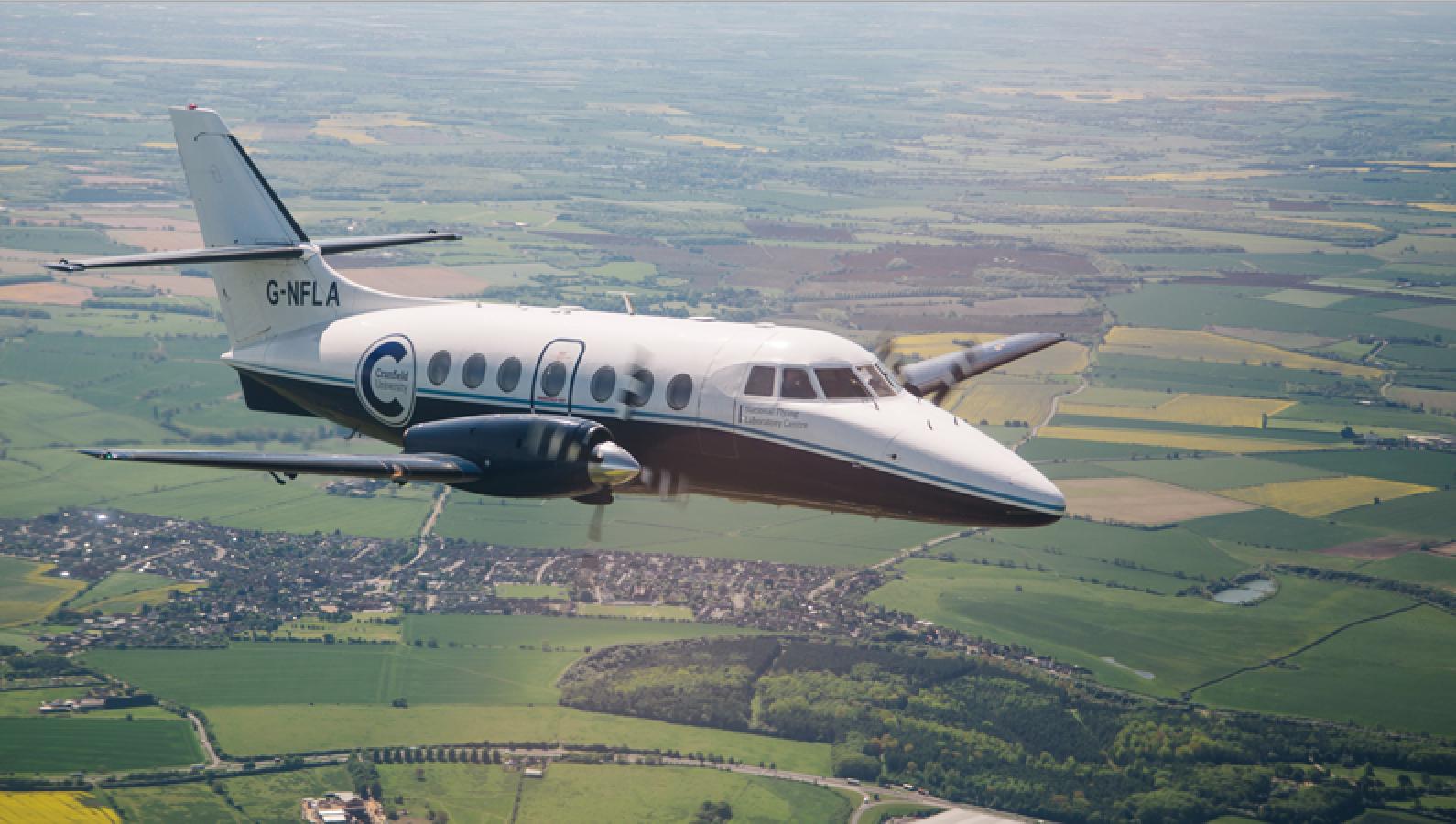 Jetstream 31 aircraft