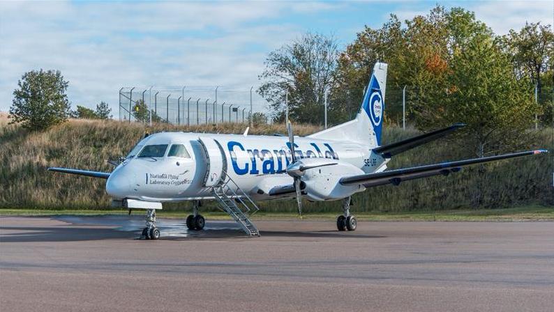 The National Flying Laboratory - Saab 340B