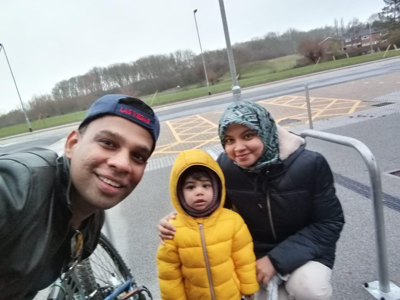 Nasreen Family Photo
